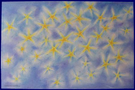 Advent Star (No.A024) アドベント・カレンダー