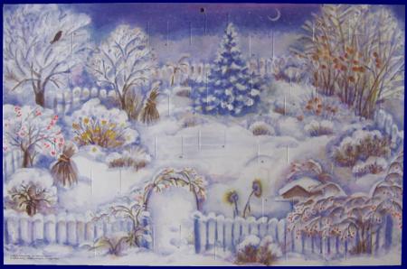 The Christmas Garden (No.A036) アドベント・カレンダー