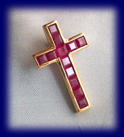 ルビー「十字」 みずからの運命を知る ディオティマ