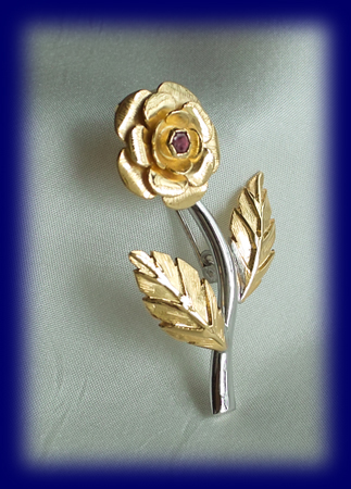 ルビー「黄金のバラ」世の人の為に尽くし 自ら捧げる事の喜び ディオティマ