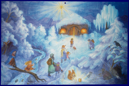 Christmas Night (No.A051) アドベント・カレンダー
