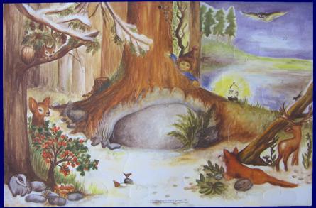 アドベントカレンダー The Tree in the Wood