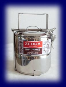 ステンレス フードキャリー10cm×2段 食器・お弁当箱