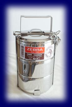 ステンレス フードキャリー10cm×3段 食器・お弁当箱
