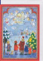アドベント・カレンダー(ポストカード) No.496