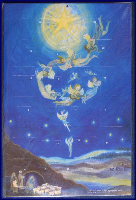 アドベントカレンダー The Holy Night