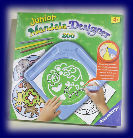 マンダラおえかき ジュニア Zoo おもちゃ