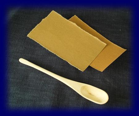 簡単マイスプーンキット(カバ)シンプル 手づくりキット