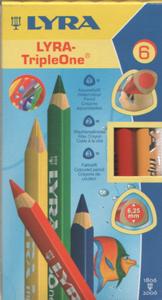 LYRA トリプル ワン 6色 えんぴつ