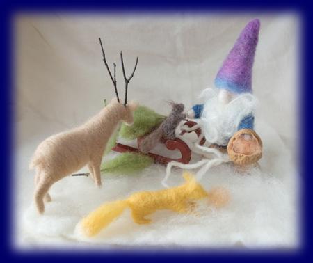 ネイチャーセット 冬のこびとと動物たち