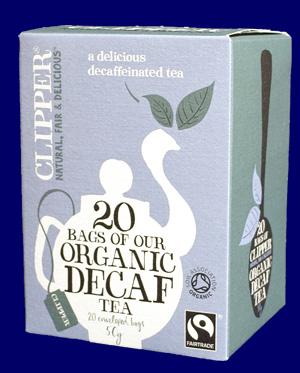 クリッパー オーガニック紅茶 アッサムブレンド カフェインレス コーヒー・紅茶