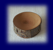 切り株のトレー ミニ 天然木の小物