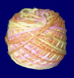 サンシャインウール(ライト)8ply 30g 手紡ぎ毛糸