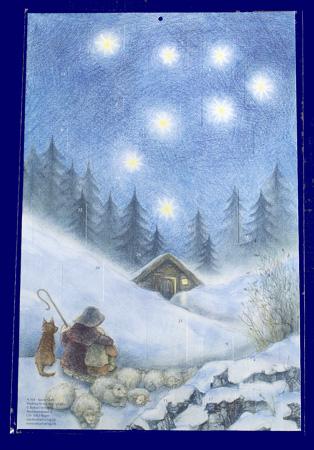 The Shepherd's Christmas(No.A104) アドベント・カレンダー