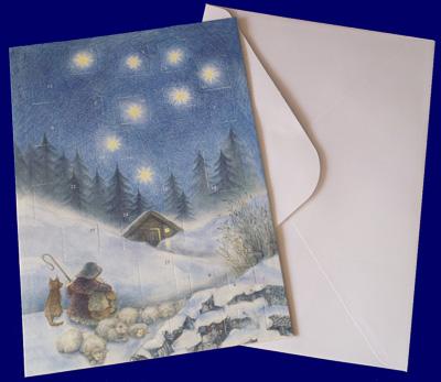 Christmas Night アドベントグリーティングカード アドベント・カレンダー