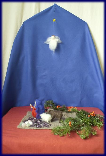 降誕 クリスマスネーチャーコーナーセット 第三アドベント 動物