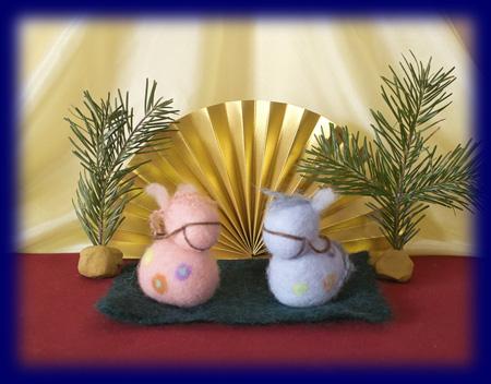 ネイチャーコーナー 正月 日本 祝祭