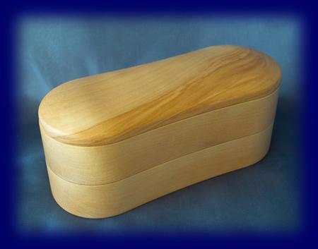 くりぬき弁当箱 2段 お弁当箱