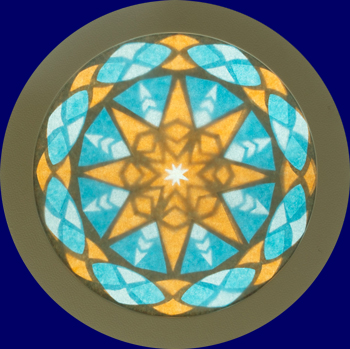 ローズウィンドウキット「星の輝き」 手づくりキット