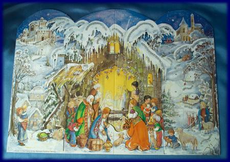 立体アドベントカレンダー 希望の光 No.557 アドベント・カレンダー