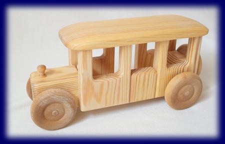 北欧のバス 車のおもちゃ