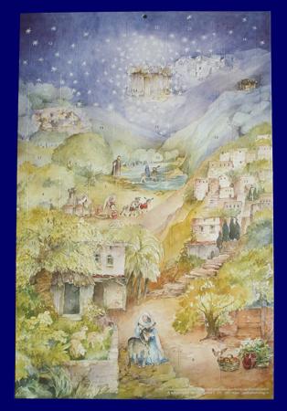 アドベントカレンダー Mary's Little Donkey:C Lesch.(No.A095)