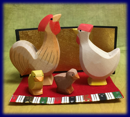 オストハイマー 鶏 とり 干支