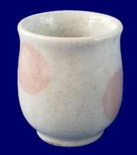 子どもの湯のみ ピンク 食器・カトラリー