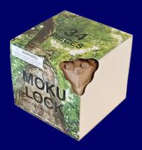 もくロック OTONA 34ピース 無垢材 木製ブロックMOKULOCK 無塗装