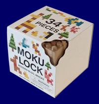 もくロック KODOMO 34ピースセット 無垢材の木製ブロックMOKULOCK 無塗装