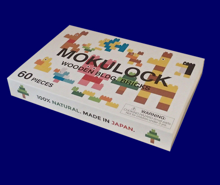 もくロック OTONA 60ピースセット 無垢材の木製ブロックMOKULOCK
