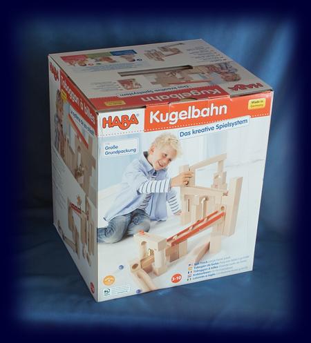 組み立てクーゲルバーン 穴あき積み木セット ビー玉転がし おもちゃ
