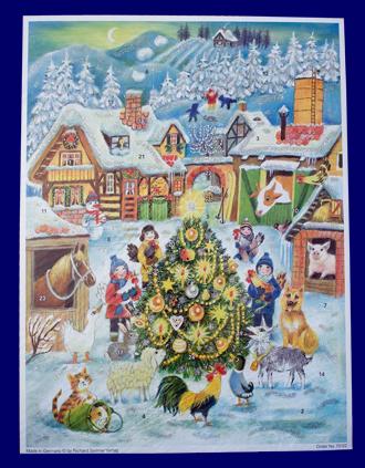 アドベント・カレンダー 輝くツリー No.70122 雑貨 クリスマス