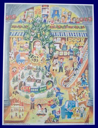 アドベント・カレンダー プレゼントがいっぱい No.70124 雑貨 クリスマス