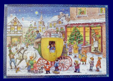 アドベント・カレンダー 乗馬の郵便屋さん No.70127 雑貨 クリスマス