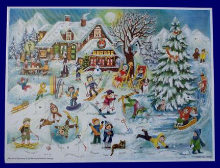 アドベント・カレンダー ゲレンデ No.70131 雑貨 クリスマス