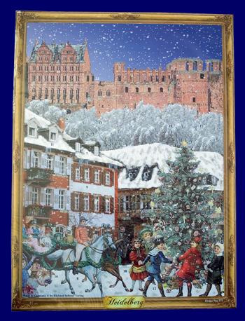 アドベント・カレンダー クラッシッククリスマス No.777 雑貨