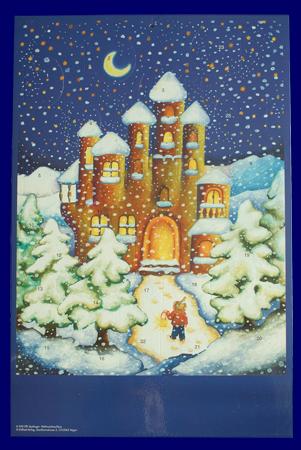 The Christmas Castle A040 アドベント カレンダー クリスマス 子どもの楽しみ