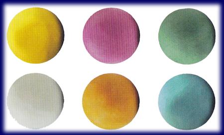 オーガニック粘土 3色セット ミックス 教材 ナチュラルねんど モデリングクレイ
