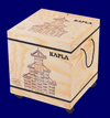 KAPLA ブック付き 1000ピース 白木 つみ木 おもちゃ 幼児教育