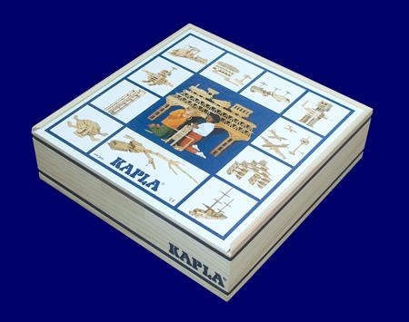 KAPLA カプラ100ピース(白木) つみ木 おもちゃ 幼児教育