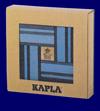 KAPLA ブック付き カラー40ピース 青セット つみ木 おもちゃ 幼児教育
