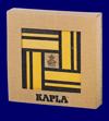 KAPLA ブック付き カラー40ピース 黄セット つみ木 おもちゃ 幼児教育