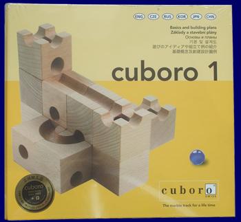パターンバインダー1 Cuboro キュボロ 組立て見本集 ビー玉転がし 本