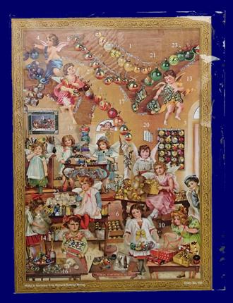 アドベントカレンダー 天使の飾りつけ No.793 アドベント・カレンダー 雑貨