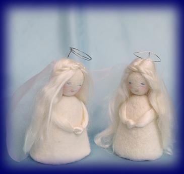 「ふたごの天使」キット 手づくりキット 手仕事・材料 幼児教育