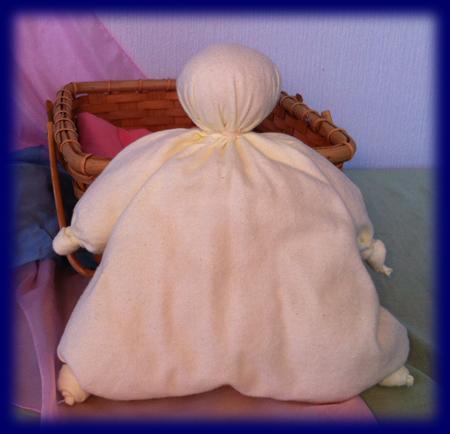 坊主人形キット(黄色) 手づくりキット 手仕事・材料