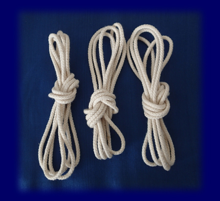 木綿 あやとり ひも 生成り 3本セット おもちゃ