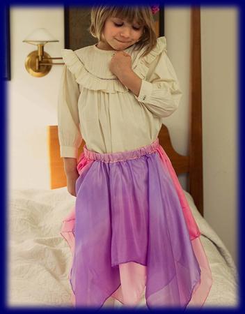 シルク フェアリー スカート ブロッサム ごっご遊び(仮装、フェイスペイント) おもちゃ