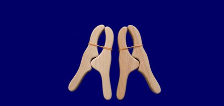 ウッドクリップ 2個入り いろいろな木のおもちゃ 幼児教育